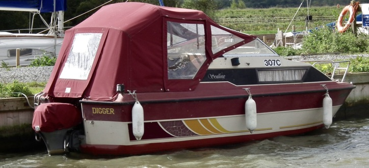 (14)   Sealine 19 Weekender - Broadland Yacht Brokers