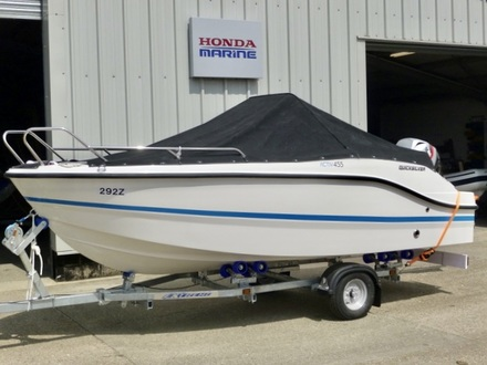 (2) Quicksilver ACTIV 455 Open - Broadland Yacht Brokers