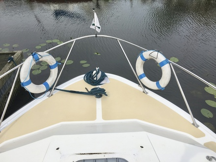 (33) Aquafibre 38 Lowliner - Broadland Yacht Brokers