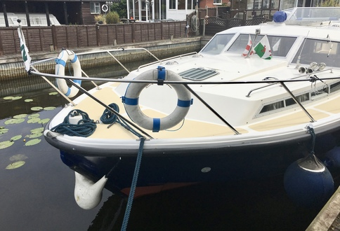 (27) Aquafibre 38 Lowliner - Broadland Yacht Brokers