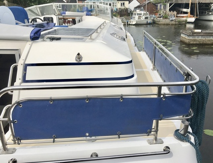 (23) Aquafibre 38 Lowliner - Broadland Yacht Brokers