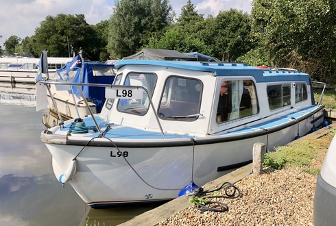 (25) Hampton Safari Mk 2 - Broadland Yacht Brokers