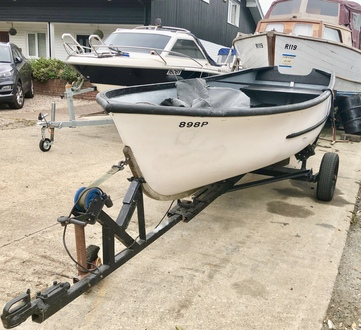 (2) GRP Dinghy 15ft - Broadland Yacht Brokers