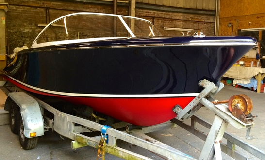 (17) Caprice Classic Sports Launch - Broadland Yacht Brokers